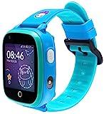 SoyMomo Space 4G - GPS Uhr für Kinder 4G -Handy Uhr für Kinder - Smartwatch 4G für Kinder (Blau)