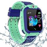 Kinder GPS Intelligente Uhr Wasserdicht,...