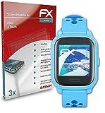 atFoliX Schutzfolie kompatibel mit Anio 4 Touch Folie, ultraklare und Flexible FX Displayschutzfolie (3X)