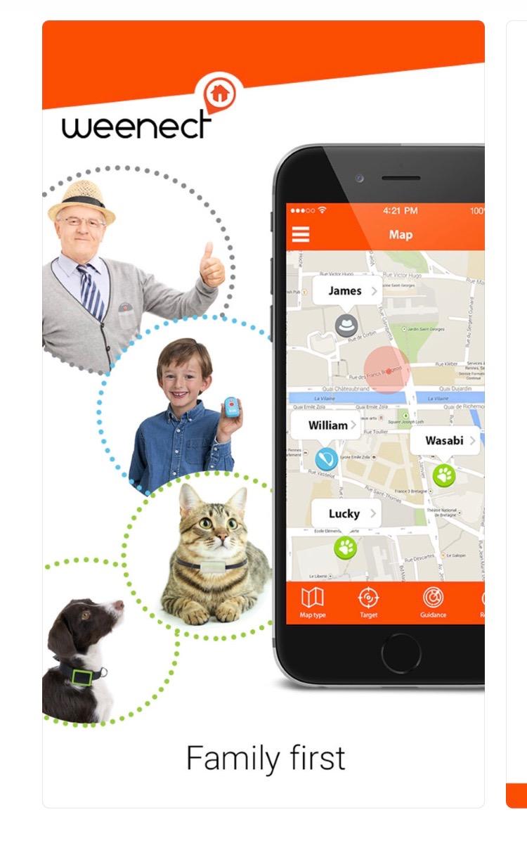 Weenect Kids App