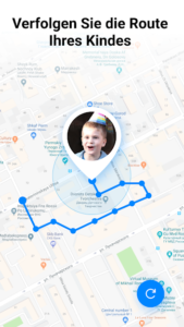 Ortungs App Find My Kids
